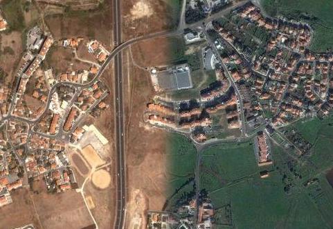 Porto Salvo está ligado a Vila Fria por uma estrada sem ligação pedestre